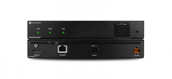 PRO Encoder (1 Kanal) i gruppen Signalhantering / AVoIP/OmniStream / HDMI Encoders & Decoders hos Audiovision AB (AT-OMNI-111)