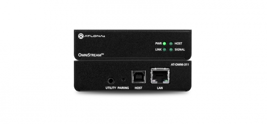 USB till IP adapter (host) i gruppen Signalhantering / AVoIP/OmniStream / USB hos Audiovision AB (AT-OMNI-311)