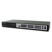 Managerad Gigabit Switch 26-Portar