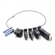 Adapterring DisplayPort, Mini-DisplayPort, Mini-HDMI, Micro-HDMI